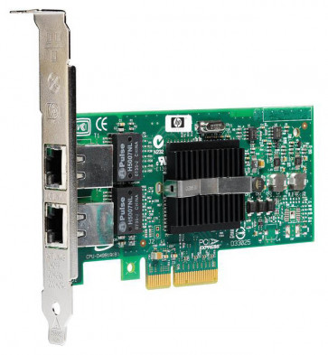 412648-001 - HP NC360T PCI-Express Dual Port 10/100/1000Base-T Gigabit Ethernet Network Interface Card (NIC)