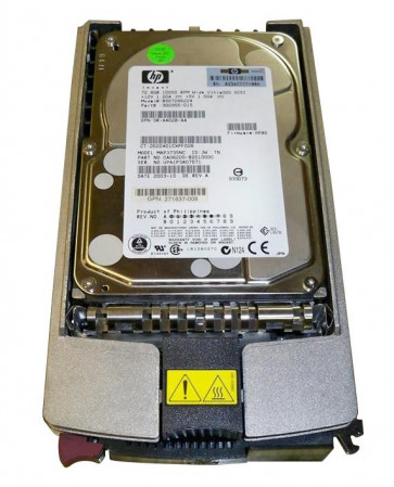 BD07286224 - HP 72.8GB 10000RPM Ultra-320 SCSI (1.0inch) Hot Pluggable 3.5-inch Hard Drive with Tray