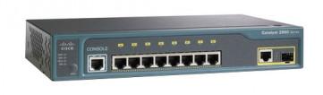 WS-C2960-8TC-L - Cisco 2960 Series 8-Port Fast Ethernet 1-Port SFP Switch