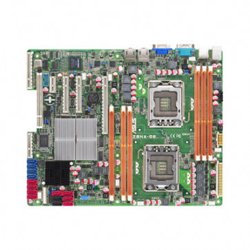 Z8NA-D6 - ASUS Intel 5500/ ICH10R Chipset Quad-Core Xeon 5500 Series Socket LGA1366 ATX Server Motherboard (Refurbished)