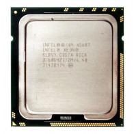 AT80614005919AB - Intel Xeon X5687 Quad Core 3.60GHz 6.40GT/s QPI 12MB L3 Cache Socket LGA1366 Processor