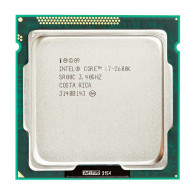 i7-2600 - Intel Core i7-2600 Quad Core 3.40GHz 5.00GT/s DMI 8MB L3 Cache Socket LGA1155 Desktop Processor (Tray part)