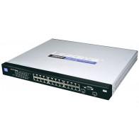 SRW2024P - Cisco Linksys 300 Series 24-Port Gigabit 2-Port SFP Switch