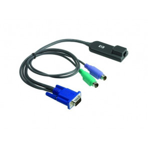 262588-B21 - HP PS/2 RJ-45 KVM IP Console Interface Adapter with Keyboard/Monitor/Mouse Cable