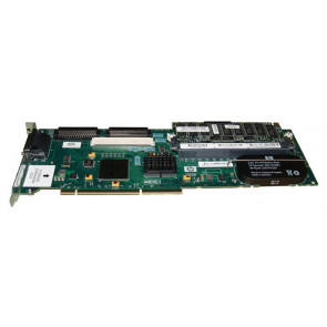 273915-B21R - HP Smart Array 6402 Dual Channel PCI-X 133MHz Ultra320 RAID Controller Card with 128MB Battery Backed Write Cache (BBWC)
