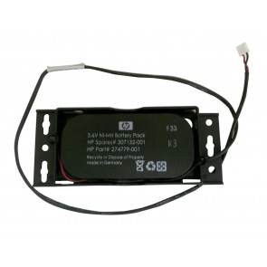 307132-001-DATE - HP 3.6V 500mAh Ni-MH Battery Pack for Smart Array 641/642 Controller