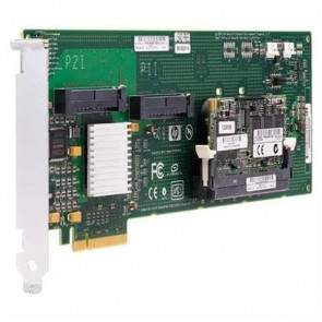 409180-B21N - HP Smart Array E200 PCI-Express 8-Port Serial Attached SCSI (SAS) RAID Controller Card with 64MB Cache Memory