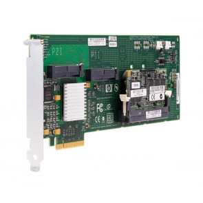 411508B21TREF - HP Smart Array E200 PCI-Express 8-Port Serial Attached SCSI (SAS) RAID Controller Card with 128MB Cache Memory