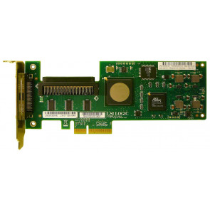 439946-001N - HP SC11XE PCI-Express X4 Single Channel SCSI Ultra320 LVD Storage Controller Host Bus Adapter