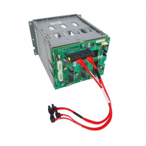 459191-001 - HP SAS/SATA Hard Drive Cage with Backplane Board for ProLiant ML150/ML310 G5/G5P Server