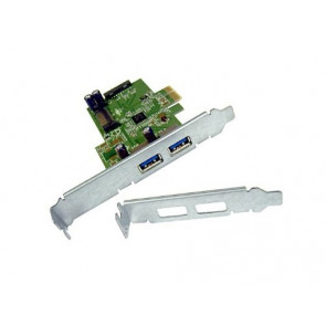 608151-001 - HP 2-Port PCI Express x1 USB 3.0 Adapter Plug-in Card