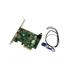 743098-002 - HP Single Port Thunderbolt-2 PCI-Express x4 I/O Card with Display Port Input