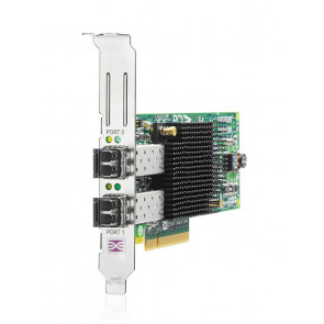 AJ763-63001 - HP StorageWorks 82E 8GB PCI-Express Dual-Port Fibre Channel (Short Wave) Host Bus Adapter