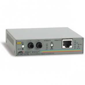 AT-MC101XL-20 - Allied Telesis 100Base-TX To 100Base-FX/st Mm 2km Mconvrt with Eurpoean Power Supply