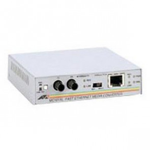 AT-MC101XL-30 - Allied Telesis Fast Ethernet 100Base-TX to 100Base-FX (ST) Multi-Mode Fibre 2km Stand-Alone Media Converter