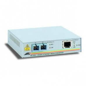 ATMC1004 - Allied Telesis AT-MC1004 1000Base-T Gigabit Ethernet to 1000SX (SC) Standalone Media Converter