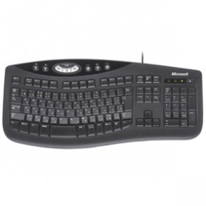 B2L-00002 - Microsoft Comfort Curve Keyboard 2000 USB QWERTY 104 Keys Black English (North America)
