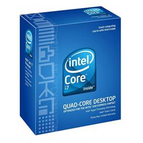 BX80601920 - Intel Core i7-920 Quad Core 2.66GHz 4.80GT/s QPI 8MB L3 Cache Socket FCLGA1366 Processor