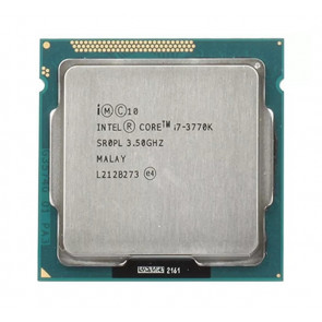 BX80637I73770K - Intel Core i7-3770K Quad Core 3.50GHz 5.00GT/s DMI 8MB L3 Cache Socket FCLGA1155 Desktop Processor