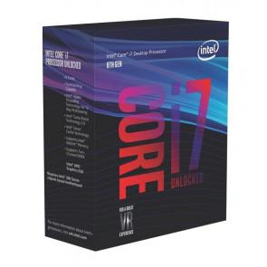 BX80684I78700K - Intel Core i7-8700K 6-Core 3.70GHz 8GT/s DMI3 12MB SmartCache Socket FCLGA1151 Processor