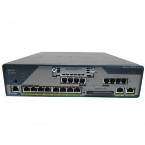 C1861-SRST-F/K9 - Cisco 8-User SRST 4FXS 4FXO 8xPOE SP Svcs Router