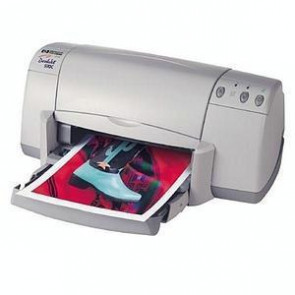 C6427B - HP DeskJet 932C Inkjet Printer Color Photo Print Desktop 9 ppm Mono / 7.5 ppm Color Print 100 sheets Input Manual Duplex Print USB