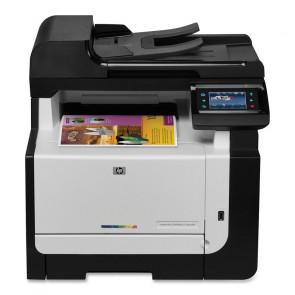 CE862A - HP Color LaserJet Pro CM1415FNW Laser Multifunction Printer Color Plain Paper Print Desktop Printer , Scanner, Fax, Copier Wi-Fi USB (Refurbished)