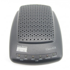 CISCO678-2 - Cisco 678 10/100Mbps Ethernet ADSL Router with Power Adapter (Refurbished)
