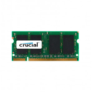 CT2KIT25664AC800 - Crucial Technology 4GB Kit (2 X 2GB) DDR2-800MHz PC2-6400 non-ECC Unbuffered CL6 200-Pin SoDimm 1.8V Memory
