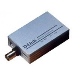 DE-855 - D-Link Transceiver Converter BNC (Thin Ethernet Coaxial) (Refurbished)
