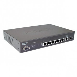 DES-3010PA - D-Link Managed 8-Port 10/100 PoE Switch + 1 Gigabit Port + 1 SFP Slot (Refurbished)