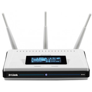 DIR-855 - D-Link Xtreme N DIR-855 Dual Band Gigabit Router 4 x LAN (Refurbished)