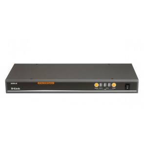 DKVM-8E - D-Link 8- Port KVM Switch 8 x 1 8 x mini-DIN (PS/2) Keyboard 8 x mini-DIN (PS/2) Mouse 8 x HD-15 Video Rack-mountable (Refurbished)