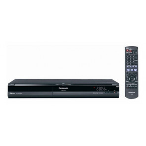 DMR-EZ28 - Panasonic DMR-EZ28 DVD Player/Recorder Black Dolby Digital DTS DVD-R CD-R NTSC DVD Video CD DivX HDMI USB (Refurbished)