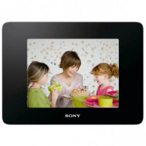 DPFD830 - Sony 8quot; lcd digital frame 800 x 600 cable 4 3 jpeg tiff exif bmp raw built-in 2GB usb bluetooth