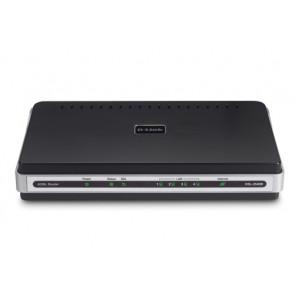 DSL-2540B - D-Link DSL-2540B ADSL Modem Ethernet Router 1 x ADSL WAN 4 x 10/100Base-TX LAN (Refurbished)
