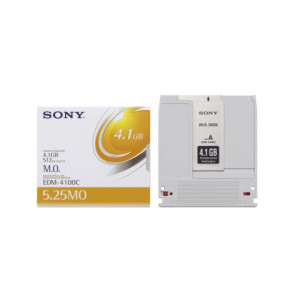 EDM-4100C - Sony 4.1GB 8X 5.25-inch Rewritable Magneto Optical Media