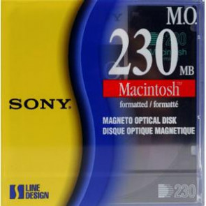 EDM230CMF - Sony 230MB Rewritable 3.5-inch Magneto Optical Media