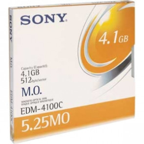 EDM4100C - Sony 5.25 Magneto Optical Media - Rewritable - 4.1GB - 8x