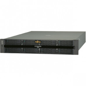 ET06F22AU - Fujitsu ETERNUS Hard Drive Array - Serial Attached SCSI (SAS) Controller - RAID Supported - 24 x Total Bays - Gigabit Ethernet - Network (RJ