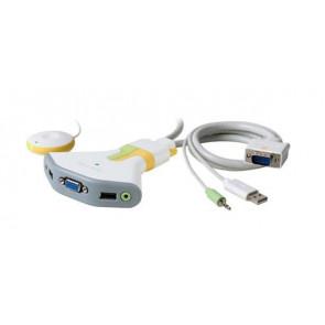 F1DG102U-A1 - Belkin Flip USB with Audio KVM Switch