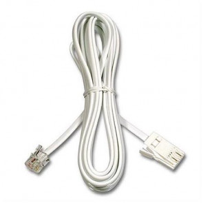 F3L900CP3M-WH-S - Belkin High-Speed RJ-11 Internet Modem Cable (White) 3M (Refurbished)
