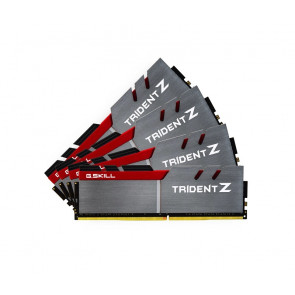 F4-3200C14Q-64GTZ - G.Skill Trident Z 64GB Kit (4 X 16GB) DDR4-3200MHz PC4-25600 non-ECC Unbuffered CL14 (14-14-14-34) 288-Pin DIMM 1.35V Memory