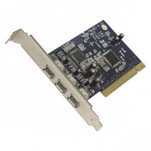 F5U503V - Belkin FireWire 3-Port PCI Card - 3 x 6-pin IEEE 1394a FireWire - Plug-in Card