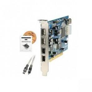 F5U508 - Belkin USB & FireWire Combo Adapter - 2 x 4-pin Type A USB 2.0 External 2 x 6-pin IEEE 1394 FireWire External 1 x USB 2.0 Internal - Plug-