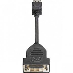 FH973AT - HP Video Cable- Smart Buy DisplayPort Male Video DVI-D (Single-Link) Female Digital Video 7.48-inch