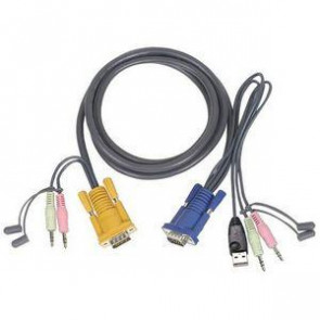 G2L5303U - Iogear 10 Ft. Usb Kvm Cable For Gcs1758/1732/1734