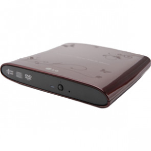 GP08NU6R - LG GP08NU6R External dvd-Writer - Red - dvd
