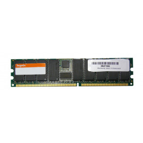 HYMD264726D8J-D43 - Hynix 512MB PC3200 DDR-400MHz ECC CL3 184-Pin DIMM Memory Module