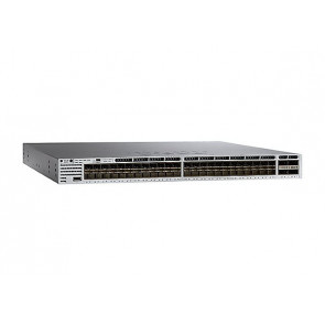 WS-C3850-48XS-E - Cisco 3850 Standalone 48 SFP+ and 4 QSFP+ Ethernet Ports Switch